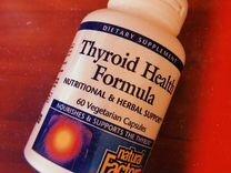 Natural Factors Формула здоровой щитовидной железы