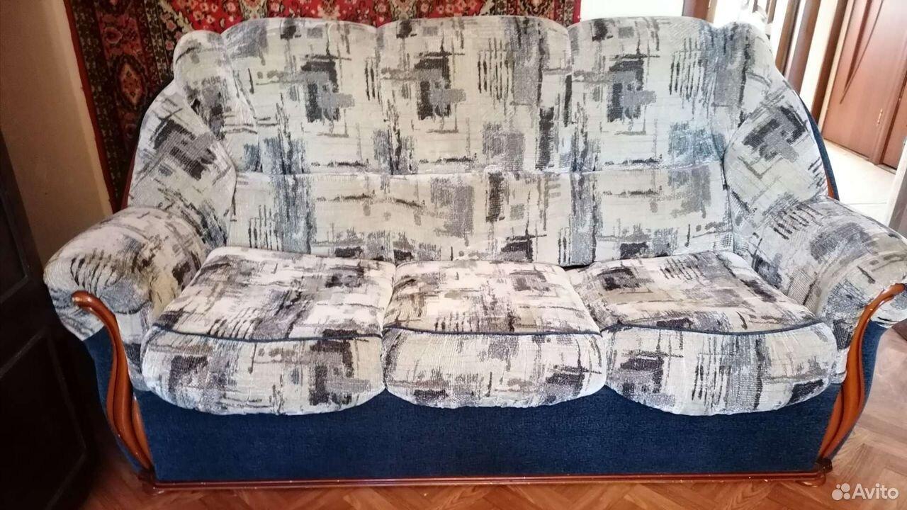 Диван и 2 кресла. отличное состояние  89023805566 купить 3