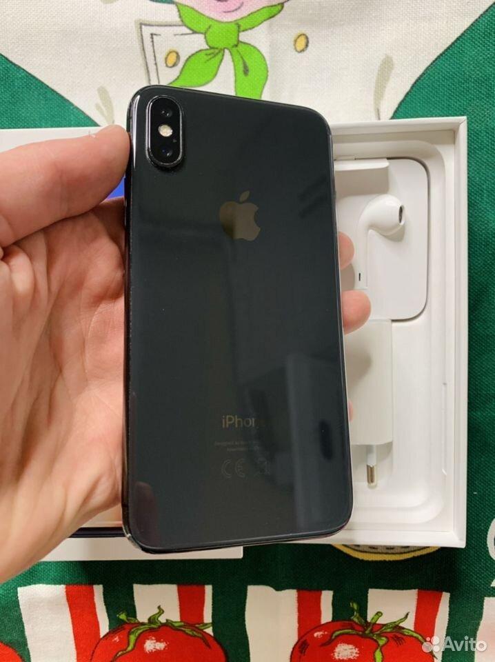 iPhone X 256 gb (Гарантия, чек)  89659840689 купить 2