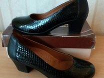 Продам туфли,38, натур,кожа,Турция