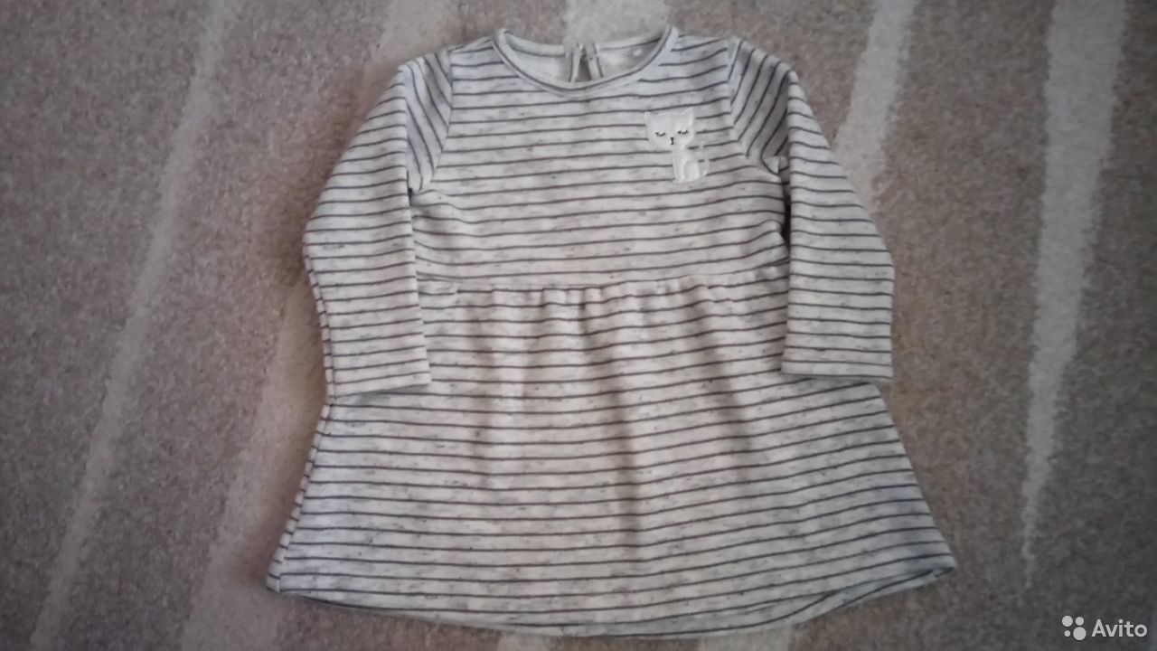 Платье для девочки BabyGo, р.80  89213578617 купить 1