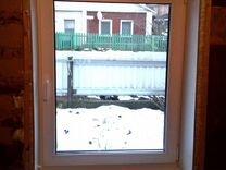 Окно пластиковое 610х1220