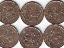 12 монет 1 рубль 1999 год с оборота-обмен
