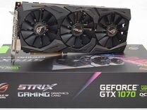 Видеокарта Asus GTX 1070 Strix 8GB