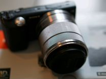 Nex5 sony 18-55mm + 32gb
