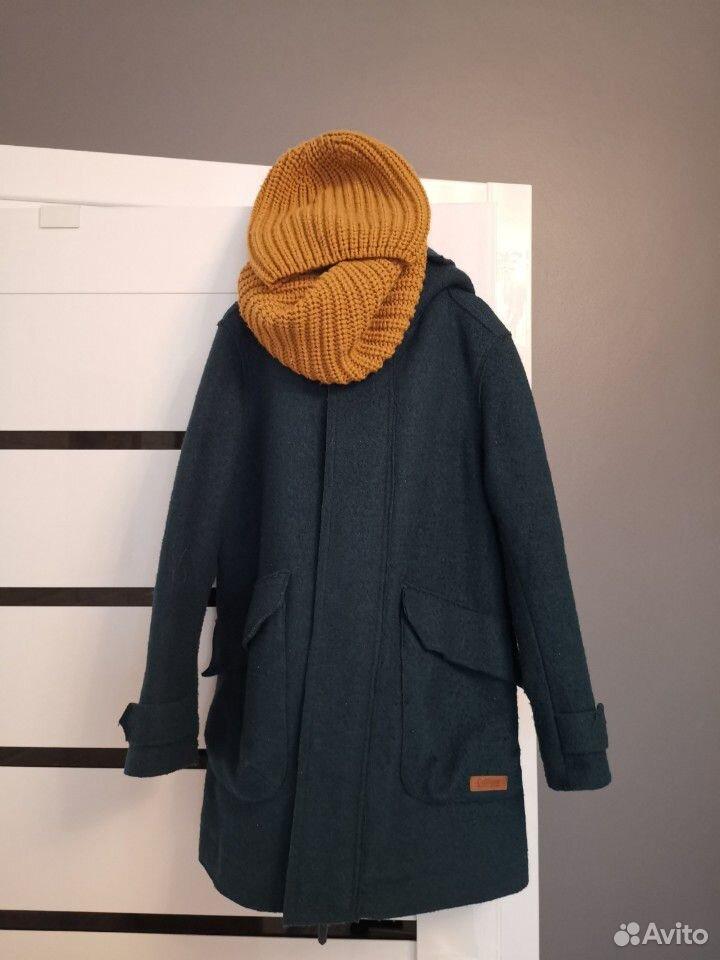Пальто, шапка и снуд р. 140 на мальчика Gulliver  89059801353 купить 2