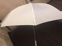 Шубка свадебная+зонт в подарок