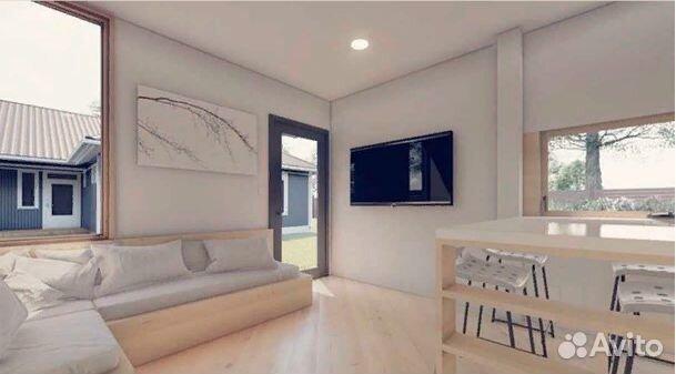 Контейнер дом (5х6м), Офис, Павильон, глемп  89530080396 купить 4