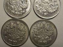 Монета 5 копеек 1915 13 12 11 г