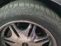 Продам комплект колес хром